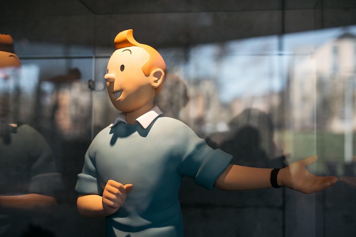 Tintin - musée Hergé