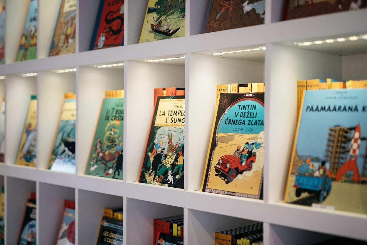 Musée Hergé - shop