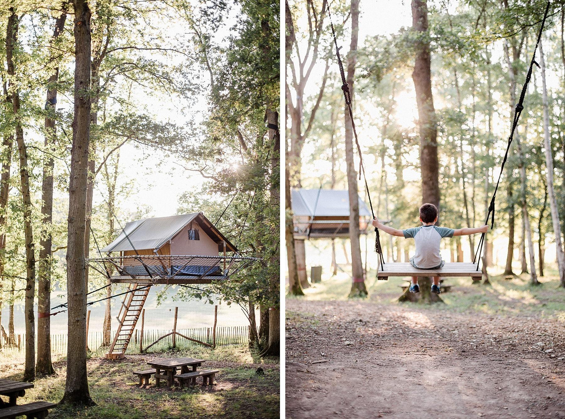Tree Tents - Dormir dans les arbres aux Grottes de Han