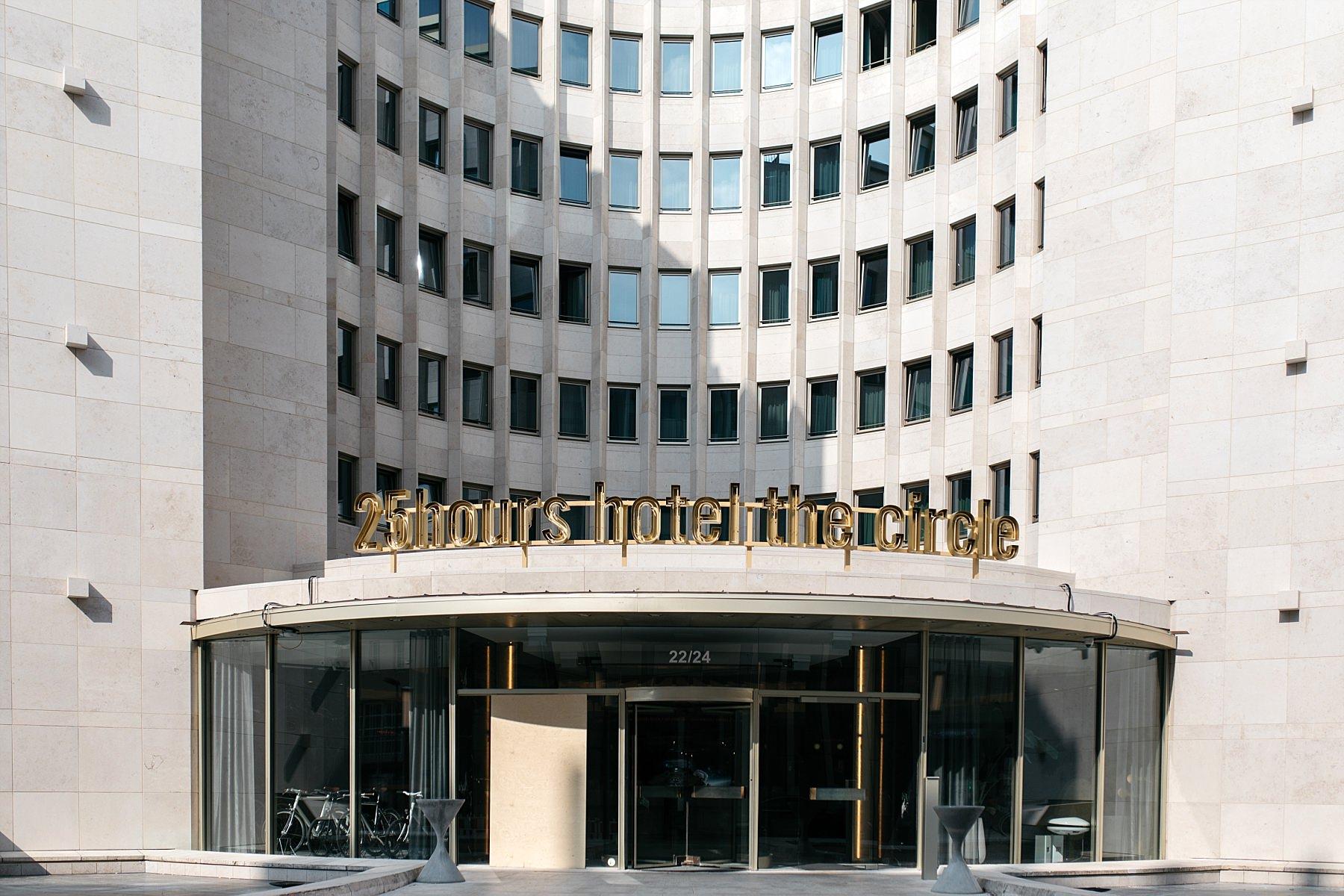 Cologne - hotel 25 Hours the circle - vue extérieure