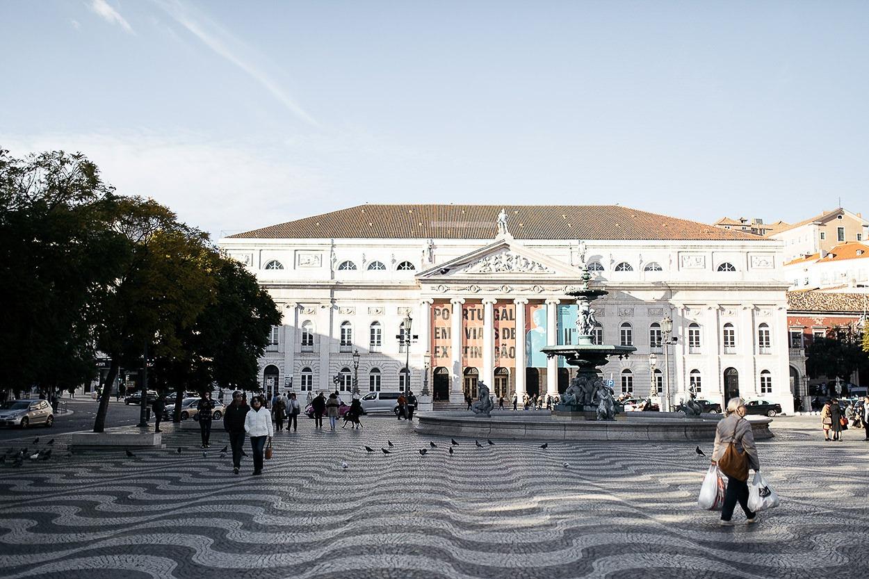 Lisbonne - Praça Do Rossio