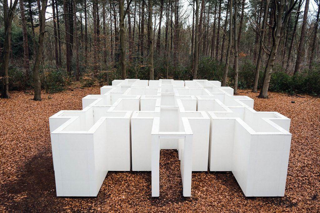 Bergen op Zoom - labyrinthe Dilemma Doolhof